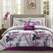 Madison Park Nicolette 9-pc. Complete Bedding Set with Sheets