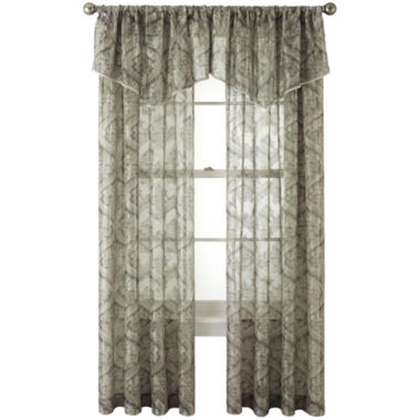 jcpenney.com | Royal Velvet® Opus Rod-Pocket Sheer Window Treatments