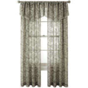 Royal Velvet® Opus Rod-Pocket Sheer Window Treatments