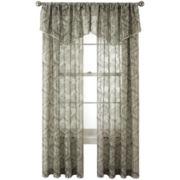 Royal Velvet® Opus Rod-Pocket Sheer Window Treatments
