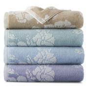 Liz Claiborne Floral Bath Towels