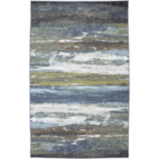 American Rug Craftsmen Abstract Shore Rectangular Rug