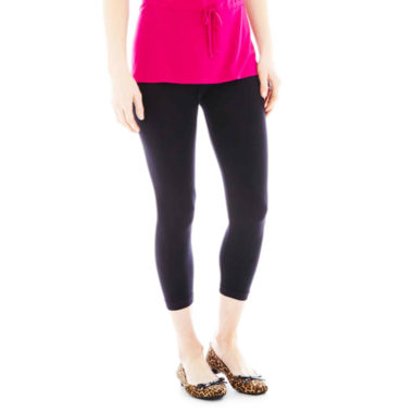 jcpenney.com | Mixit™ Seamless Cropped Leggings