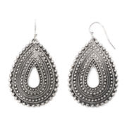 Arizona Textured Teardrop Earrings
