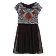 Speechless® Stripe Popover Dress - Girls 7-16