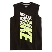 Nike® Sleeveless Muscle Tank Top - Boys 8-20