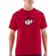 Dad Short-Sleeve Appliqué Tee
