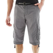 Plugg® Mini-Ripstop Messenger Cargo Shorts