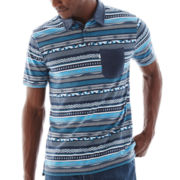 Funhouse Stripe Polo