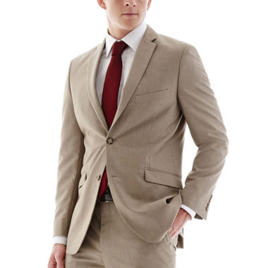 jcpenney.com | Adolfo® Tan Suit Jacket - Slim