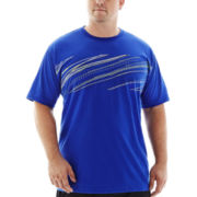 The Foundry Supply Co.™ Striped Athletic Tee-Big & Tall