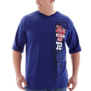 Ecko Unltd.® Short-Sleeve V-Neck Tee-Big & Tall