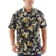 The Foundry Supply Co.™ Short-Sleeve Rayon Shirt-Big & Tall