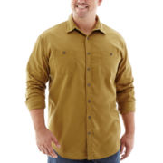 The Foundry Supply Co.™ Long-Sleeve Vintage Woven Shirt-Big & Tall