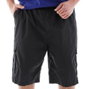 Ecko Unltd.® Ribbed Waist Cargo Shorts-Big & Tall