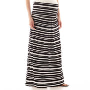 a.n.a® Maternity Wide-Waistband Maxi Skirt