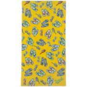 IZOD® Flip Flops Beach Towel