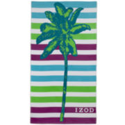 IZOD® Palm Tree Beach Towel