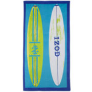 IZOD® Surfboards Beach Towel