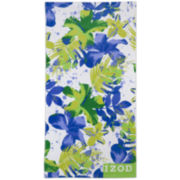 IZOD® Breezy Hibiscus Beach Towel