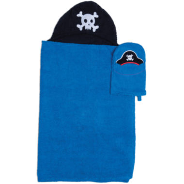 jcpenney.com | Pirate Hooded Towel and Wash Mitt Set