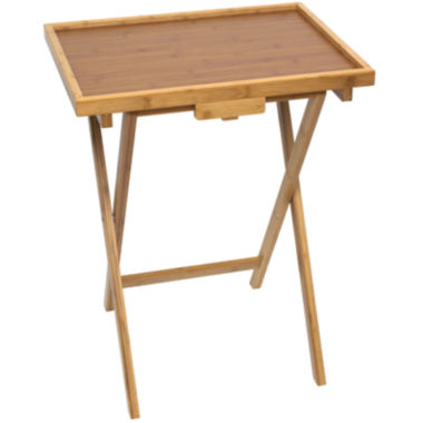 jcpenney.com | Bamboo Snack TV Tray Table with Lip