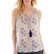 MNG by Mango® Sleeveless Print Top
