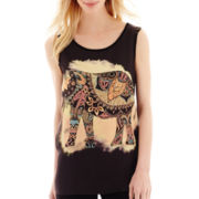 i jeans by Buffalo Graphic Tank Top