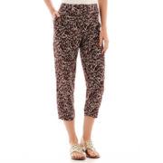 Liz Claiborne® Print Soft Pants