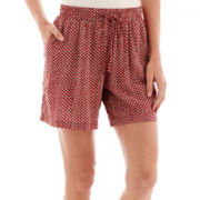 Liz Claiborne® Print Soft Shorts