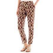 Liz Claiborne® Print Cropped Soft Pants