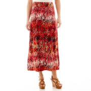 Liz Claiborne® Weekend Maxi Skirt