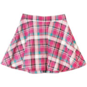 by&by Girl Plaid Circle Skirt - Girls 7-16