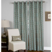 Elrene Latique Grommet-Top Curtain Panel