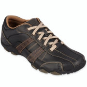 Skechers® Vassell Mens Casual Leather Shoes