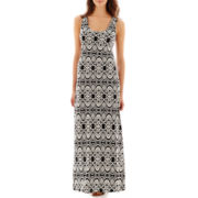 MSK Sleeveless Tank Maxi Dress - Petite
