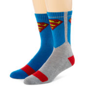 DC Comics™ Superman 2-pk. Athletic Crew Socks