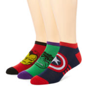 Marvel® Avengers 3-pk. Athletic Low-Cut Socks