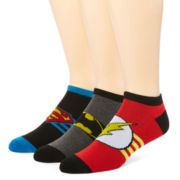 DC Comics™ 3-pk. Athletic Low Cut Socks