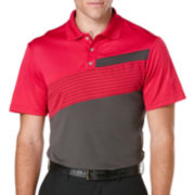 PGA TOUR® Pro Series Printed Colorblock Polo