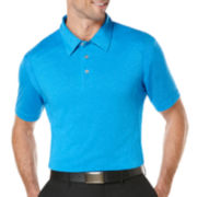 PGA TOUR® Pieced Heather Polo