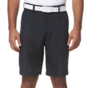 PGA TOUR® Flat-Front Striped Shorts