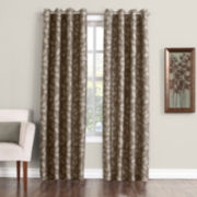Sun Zero™ Gloria Room-Darkening Grommet-Top Curtain Panel