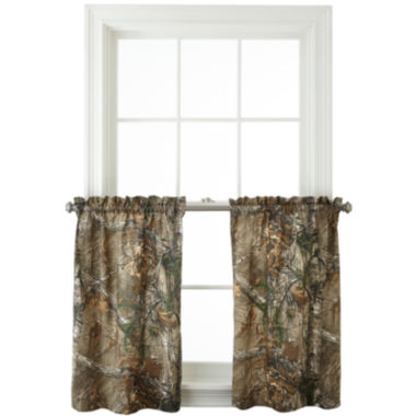 jcpenney.com | Realtree® Xtra® Camo Rod-Pocket Window Tiers