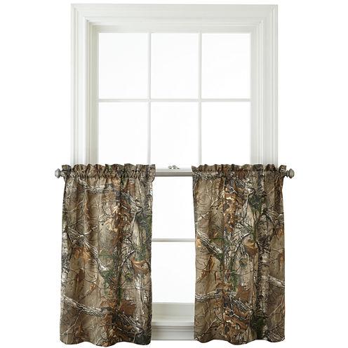 Realtree® Xtra® Camo Rod-Pocket Window Tiers