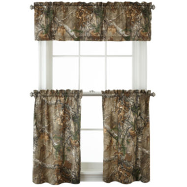 jcpenney.com | Realtree® Xtra® Camo Rod-Pocket Kitchen Curtains