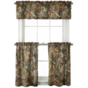 Realtree® Xtra® Rod-Pocket Kitchen Curtains