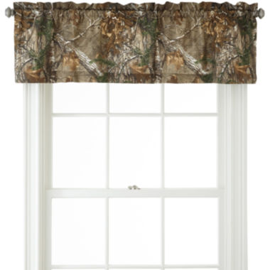 jcpenney.com | Realtree® Xtra® Camo Rod-Pocket Valance