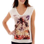 MNG by Mango® Sleeveless Graphic T-Shirt