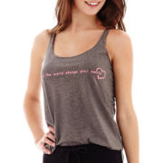 MNG by Mango® Smile Graphic Tank Top